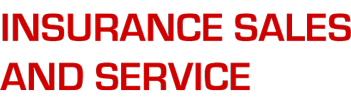 Insurance Sales and Service